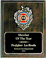 Mylar Recognition Award Plaque